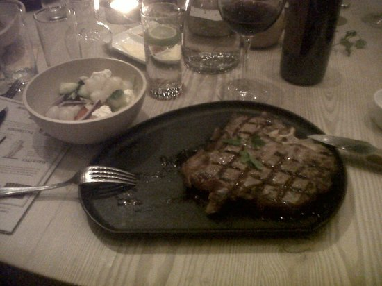 A Hereford Beefstouw: The T Bone!