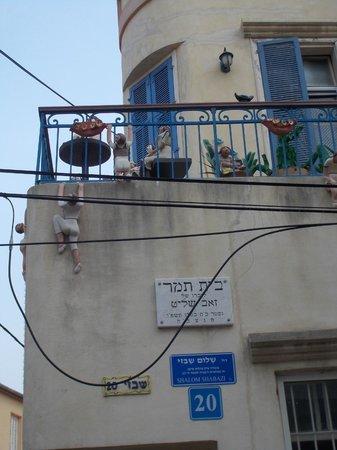 Neve Tzedek: Shalom Shabazi street