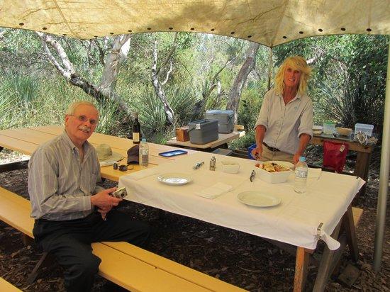 Exceptional Kangaroo Island : open-air picnic