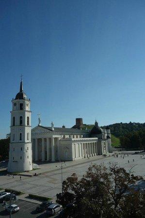 Kempinski Hotel Cathedral Square: вид из окна)