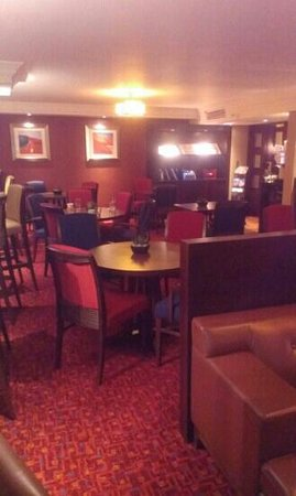 Glasgow Marriott Hotel: executive lounge