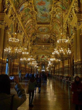 Opéra Garnier : Le Gran Foyer