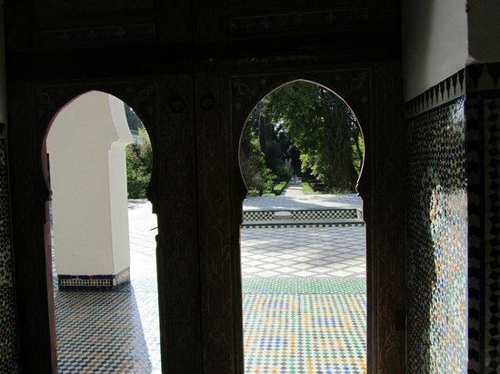 Dar Batha Museum: Les abords du jardin