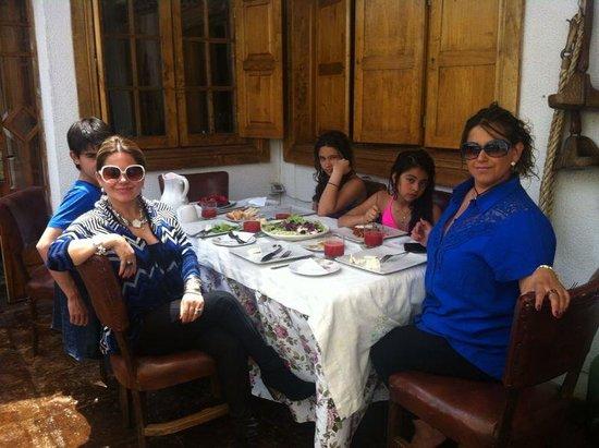 Hotel Boutique Vendimia Premium : Un rico almuerzo en hotel vendimia