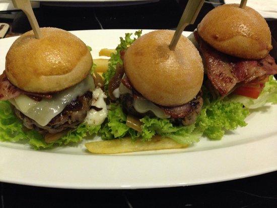 Hotel Kai: Mini Hand Chopped Cheese Burger