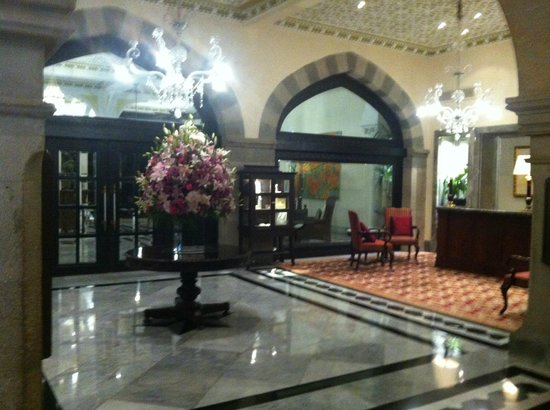 The Taj Mahal Palace: lobby