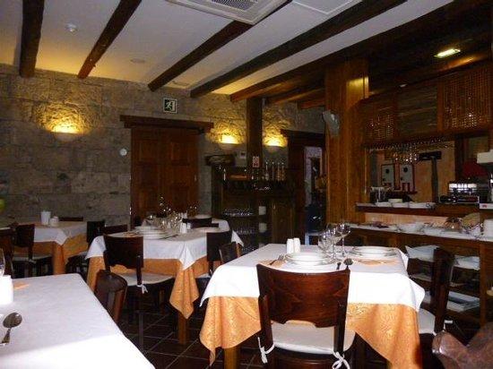 Hotel Rural Fonda de la Tea: Dining room