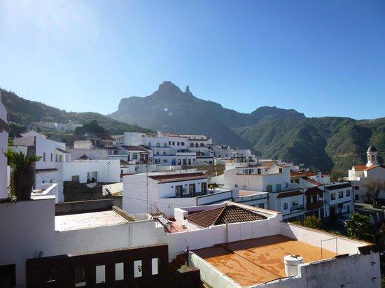 Hotel Rural Fonda de la Tea: View from balcony