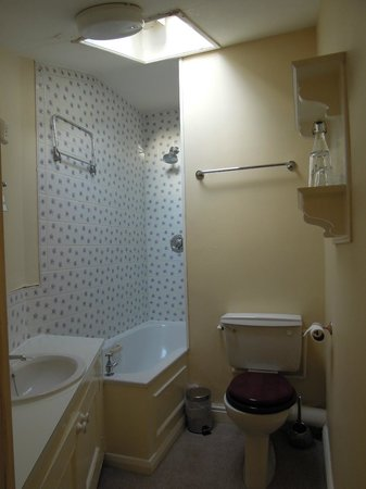 The Inn at Hawnby : Sky bathroom