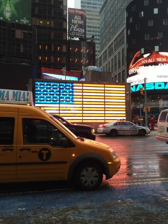 Times Square : флаг