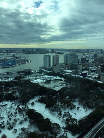 Conrad Tokyo: Excellent view from the room
