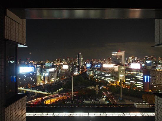 remm Shin Osaka : The views from the side overlooking the station are more interesting.