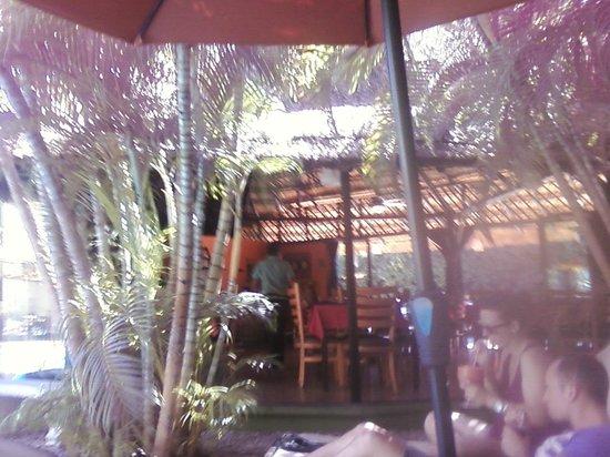 Aventura Mexicana : restaurant from pool area