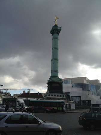 Place de la Bastille : Bastille