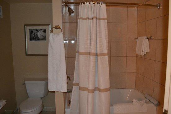 Anaheim Marriott Suites: Bañera completa