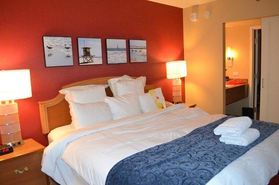 Anaheim Marriott Suites: Habitación king