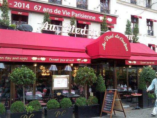 L esterno del ristorante fotograf a de au pied de cochon for L esterno del ristorante sinonimo