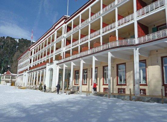 Berghotel Schatzalp: Facade de l'hotel