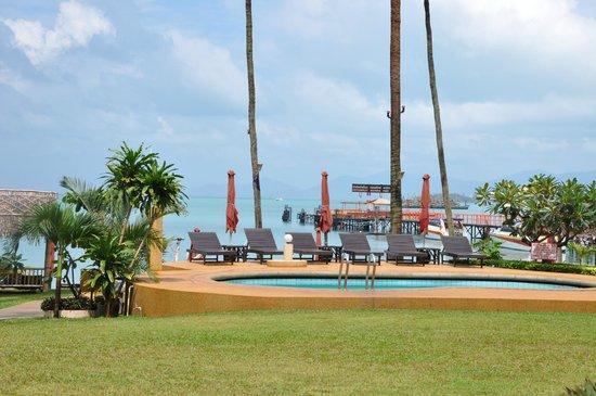 Samui Pier Resort: Вид из номера. до воды 30 метров