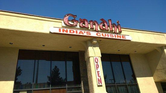 Gandhi India's Cuisine : Entrance