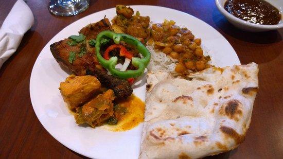 Gandhi India's Cuisine : My lunch