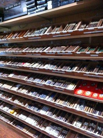 Churchill's Bistro and Cigar Bar : Cigar Humidor