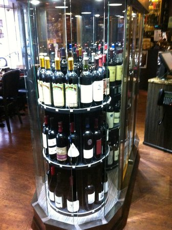 Churchill's Bistro and Cigar Bar : Great wine selection