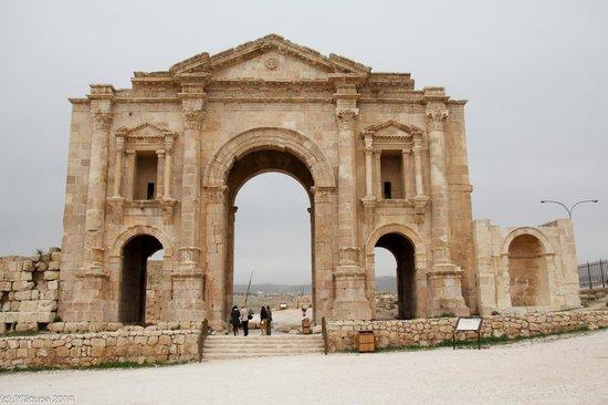 Ruinas de Jerash: Jerash ruins