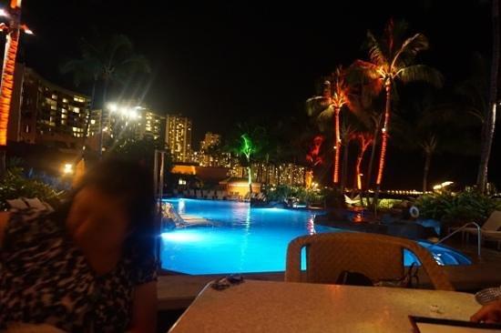 Sheraton Waikiki: ラムファイヤーで