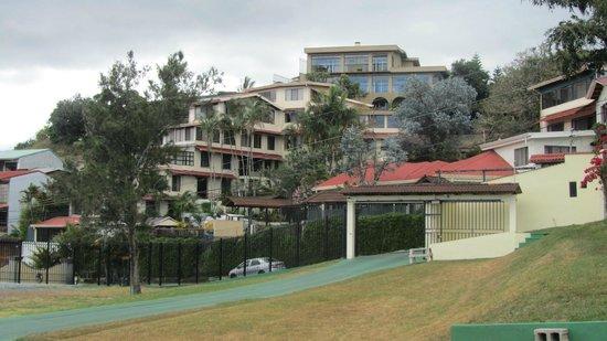Hotel Casa Reflejos: mountain view of Casa Reflejos