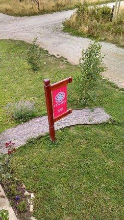 Mandala Hostel Boutique: Cartel de entrada