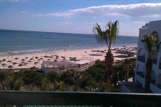 Hotel Marhaba Beach: Lovely view on a sunny day