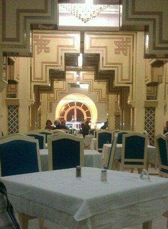 Marhaba Beach Hotel: The dining room