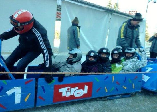 AktivHotel Veronika: Bob sleigh run