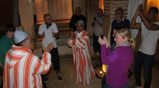 Festivities at Riad Misria