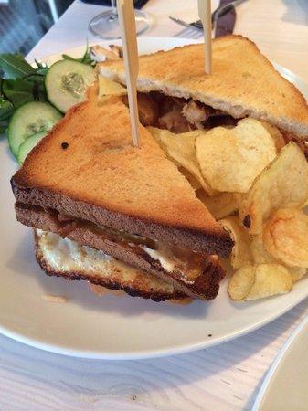 Von der Motte: Club Sandwich Deluxe - perfect!!