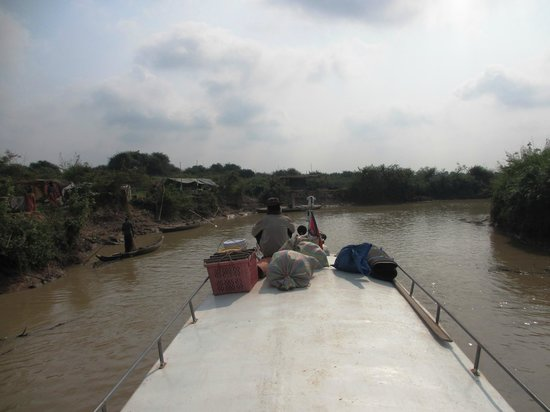 Angkor Express Boat: On the roof of the Angkor Express
