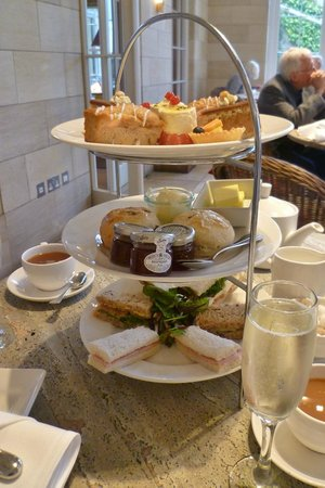 Rudding Park Hotel : gorgeous cream tea