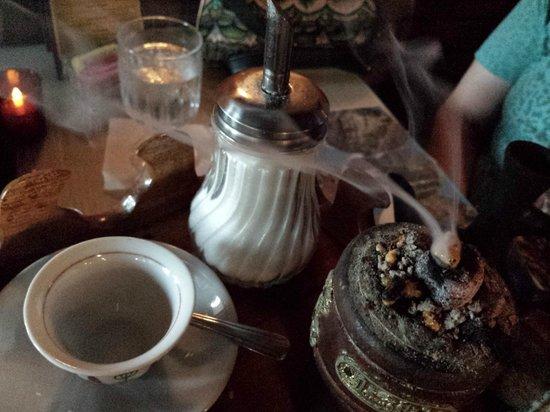 Nile Ethiopian Restaurant: ethipian coffee