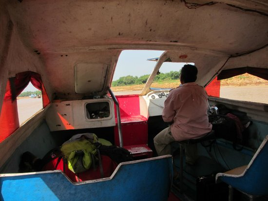 Angkor Express Boat: From the inside