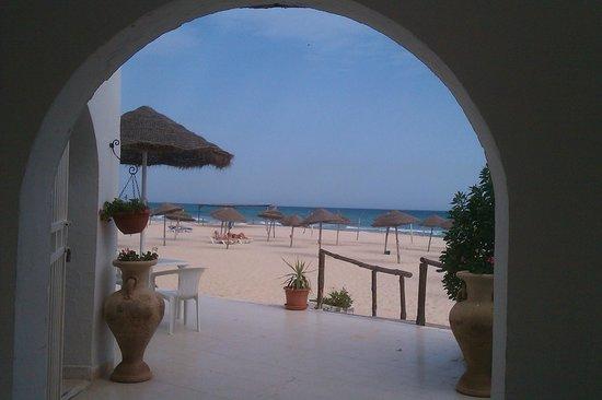 Hotel Marhaba Beach: Hotel right on beach