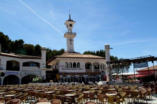 The Square Santa Ponsa : Day Time