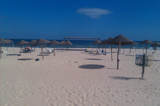 Hotel Marhaba Beach: Hotel's private beach