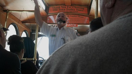 Old Town Trolley Tours of San Diego: Our Tour Guide / Driver