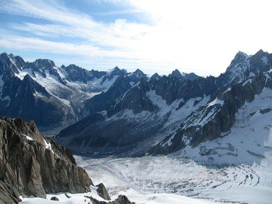 Vallée Blanche : долина