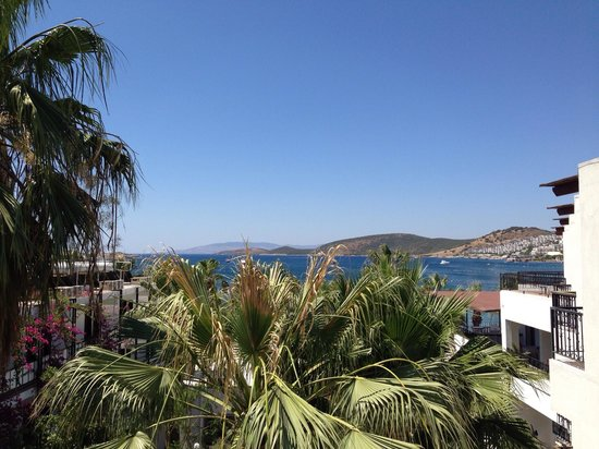 Sami Beach Hotel: What a view from our room