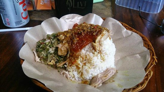 Warung Babi Guling Ibu Oka 3: Roast pig served cold...