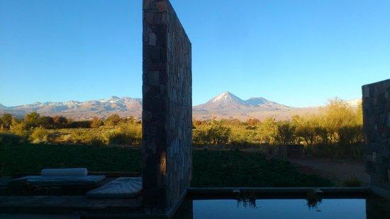 Tierra Atacama Hotel & Spa: A vista do vulcão