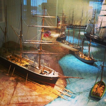 Åland Maritime Museum: Макеты кораблей