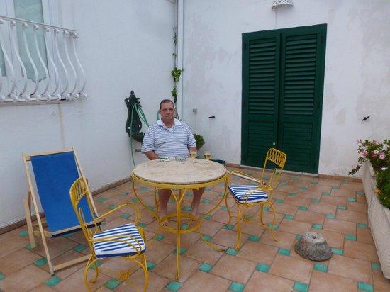 Hotel Villa delle Palme: Terrace - Room #24